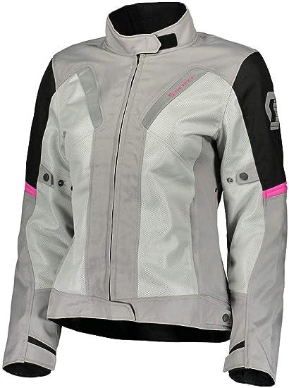 Scott Summer VTD Mujer Moto Chaqueta gris/negro/rosa 2018 ...