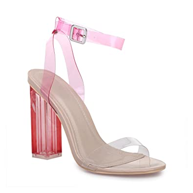 Plastique Sandales Transparentes Modeuse Souple Brides En La À MVpGqUzS