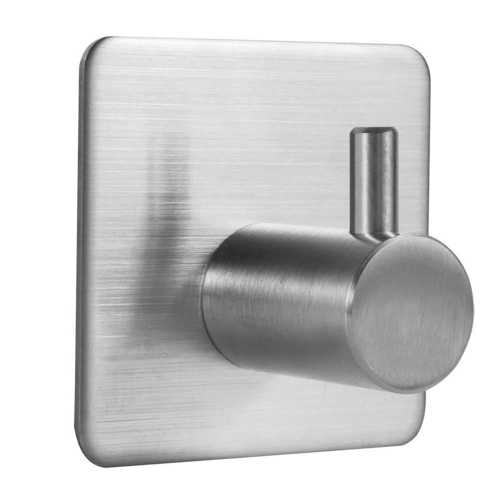 low-cost Cozime Bathroom Towel Hooks, 3M Self Adhesive Wall Hook, No ...