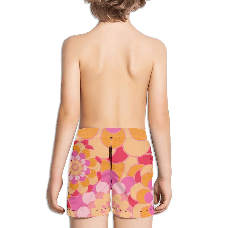 Ouxioaz Boys Swim Trunk Abstract Sunflower Floral Art Beach Board Shorts