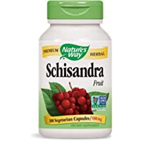 Nature's Way Schisandra Fruit -- 100 Capsules