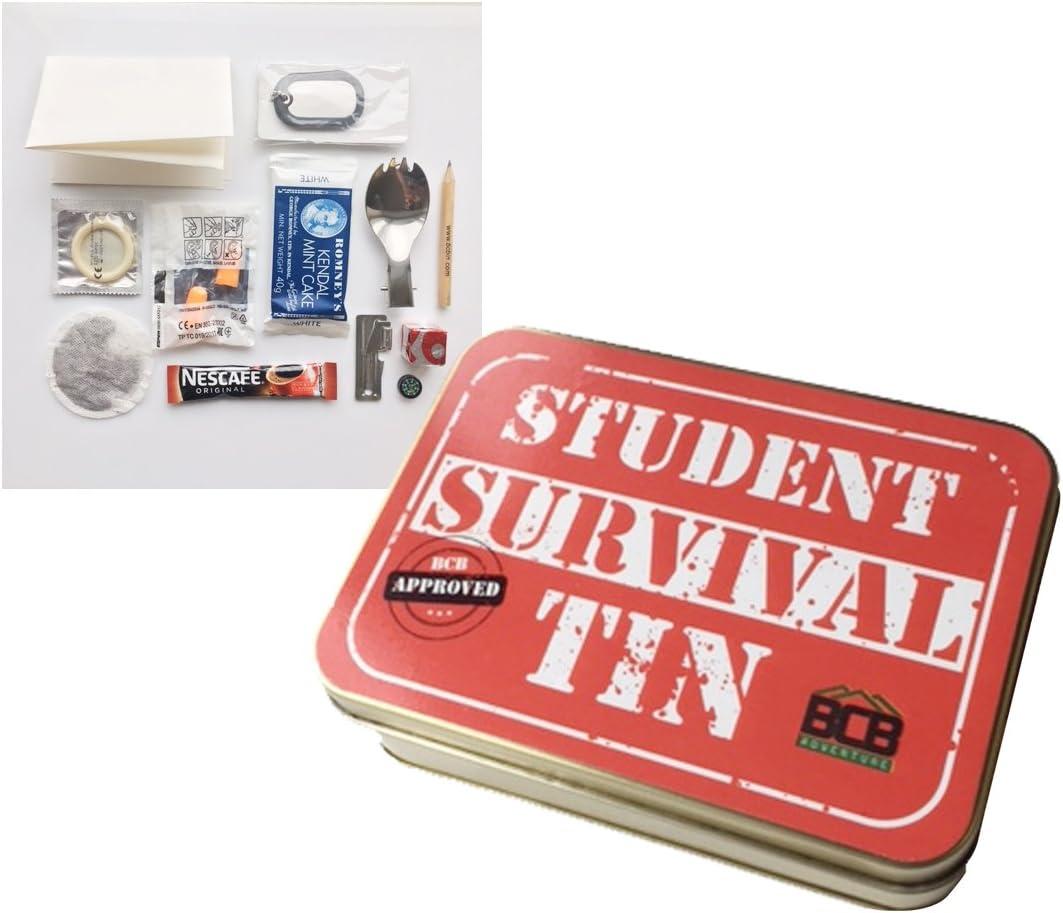 Bushcraft Kit de Supervivencia para el Estudiante, Unisex, de Lata ...