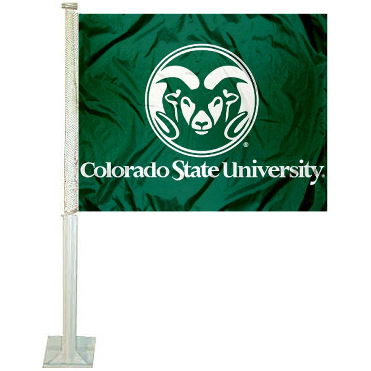 College Flags and Banners Co. Colorado State Rams Car Flag