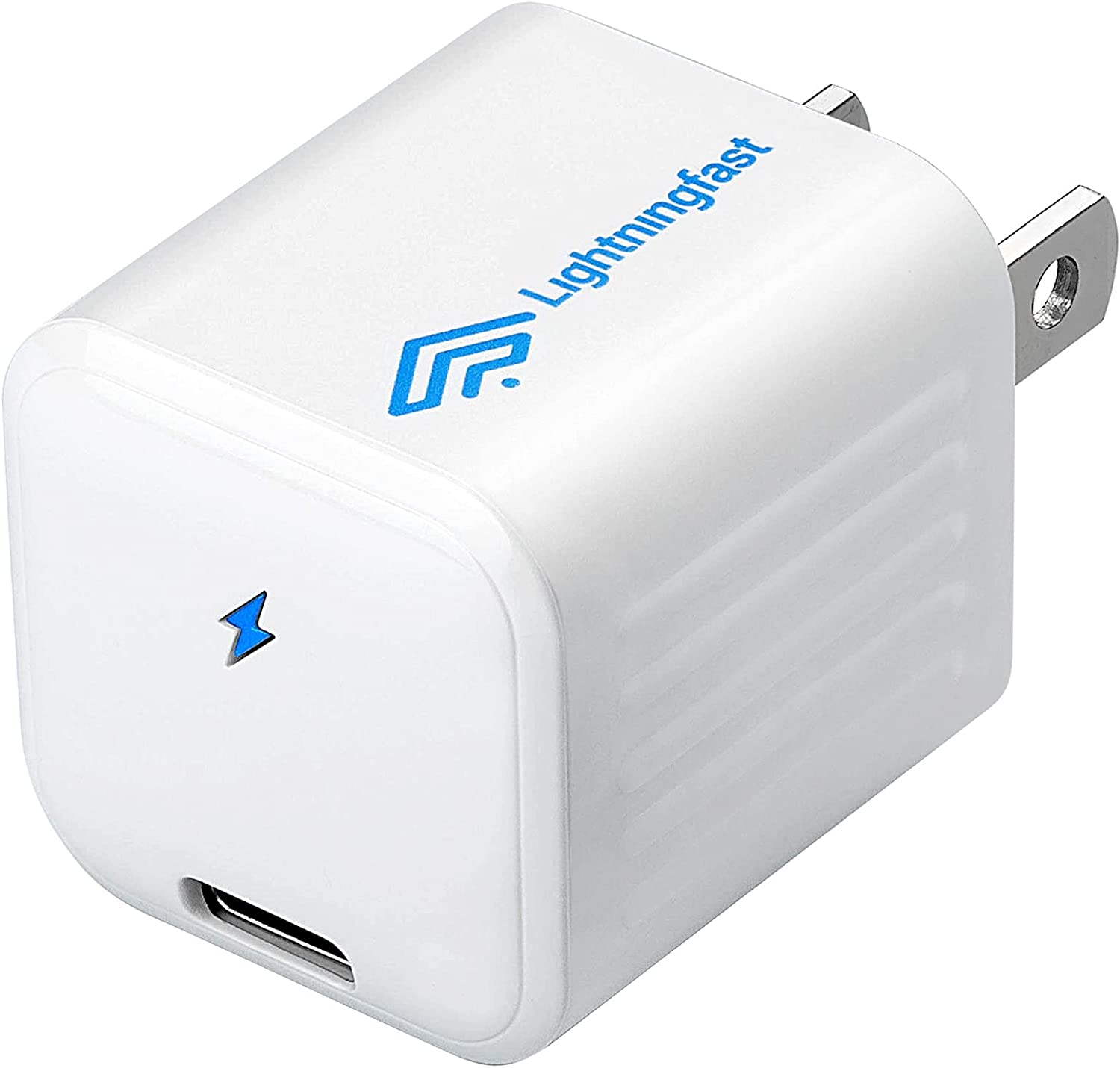 20W Fast Charging Block Adapter - USB Type C Wall Charger - Compatible Apple iPhone 12 Charger Block for iPhone 12 Pro Max 11 iPad Pro - Mini 1 Inch Rapid Power Adapter - USBC Wireless Cell Accessory