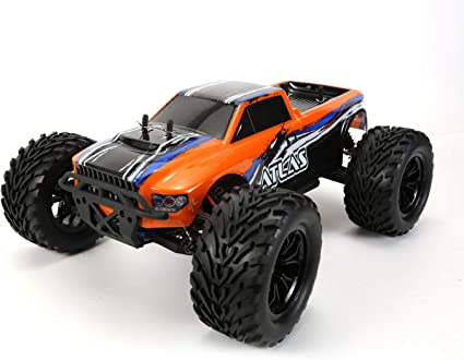 Amazon Com Funtech 1 10 Scale Large Rc Car R C Rtr Rc Trucks High Speed 50km H 4wd 2 4ghz Remote Control Truck Radio Controlled Off Road Rc Cars Electronic Monster Truck Hobby Grade Cross Country Car