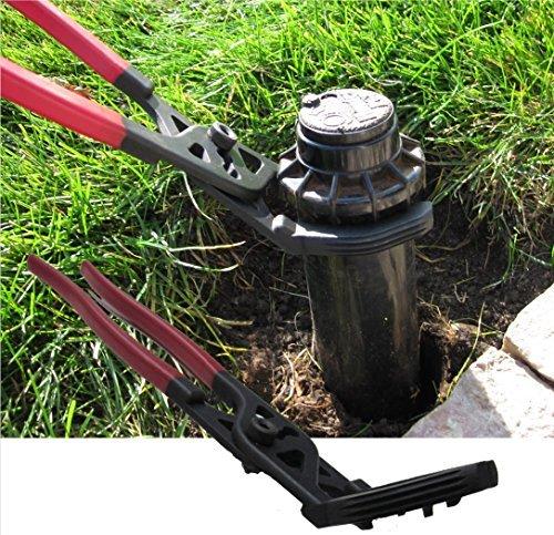 Llave para aspersor Keyfit, la forma más rápida y versátil de quitar, reemplazar y ajustar cabezales de aspersor sin cavar...