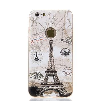 Silica DMR082 - Carcasa Torre Eiffel Relieve para Apple ...