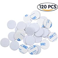 Shintop Felt Pads – 1 inch 120 Piece Value Pack Self-adhesive Fiber Felting Furniture and Floor Protectors (White)