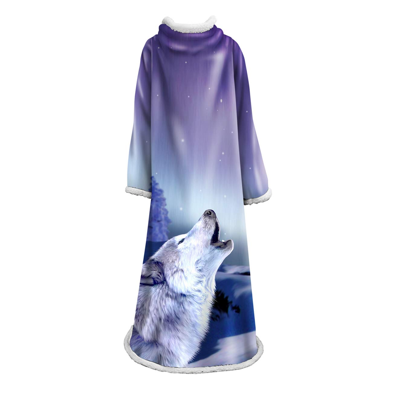 Snuggies for Adults - Wearable Blanket with Sleeves Women - Wearable Blanket Adults - Lazy Slanket Reading Throw Blanket for Men and Women Elegant Lightweight by LONTA