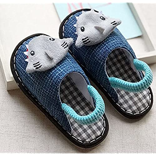C\'wait Kids Cute House Slippers Indoor Bedroom Spa Slipper Shoes ...
