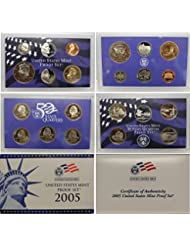 2005 United States Mint Proof Set Original Government Packaging Proof