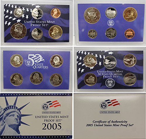 2005 S Proof set Collection Uncirculated US Mint