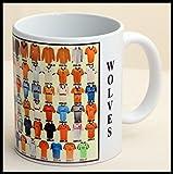 Wolverhampton Wanderers mug Wolves shirt History Mug Ceramic Mug football Mug