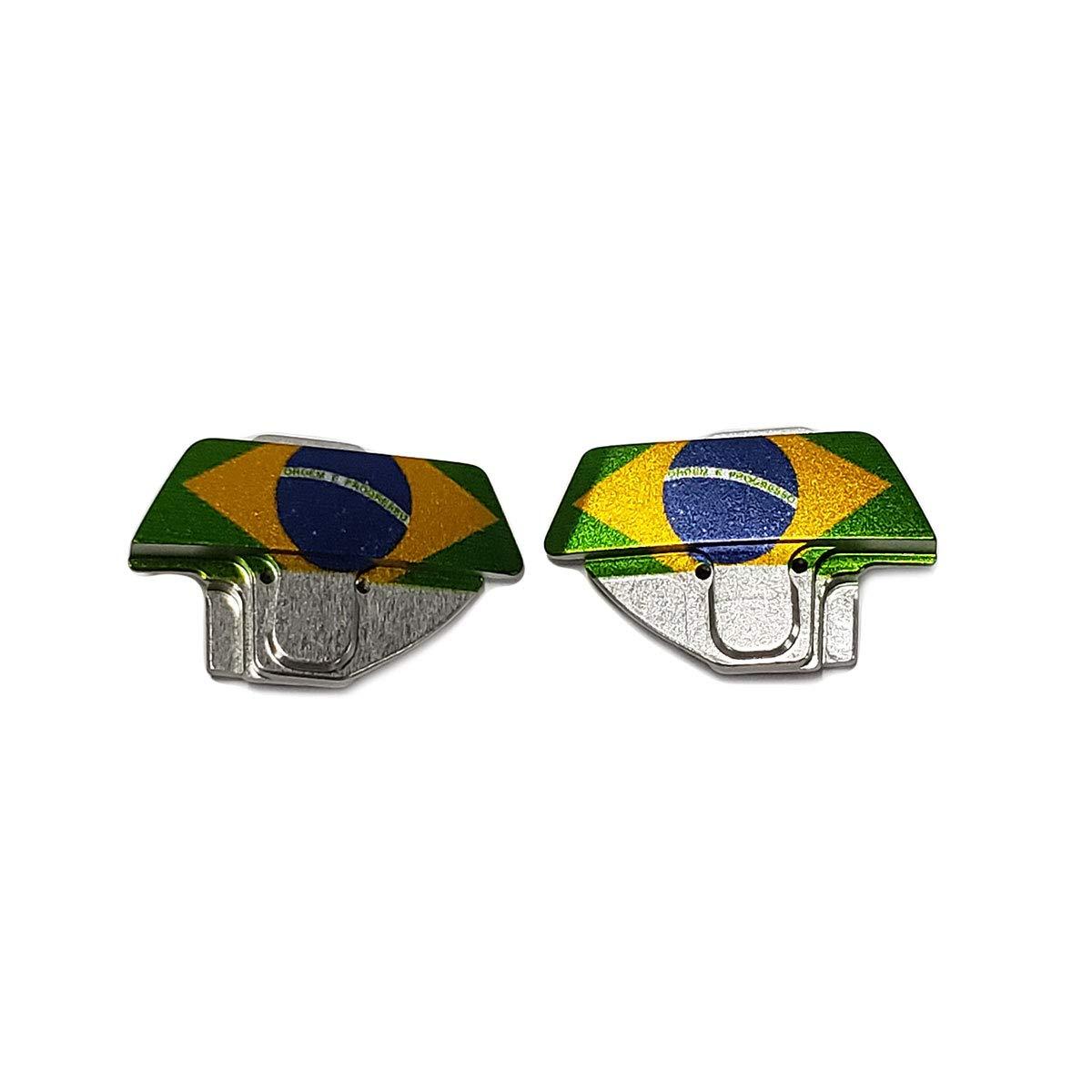 Planet Eclipse Eye Cover Kit - CS2 - Brazil Flag by Planet Eclipse