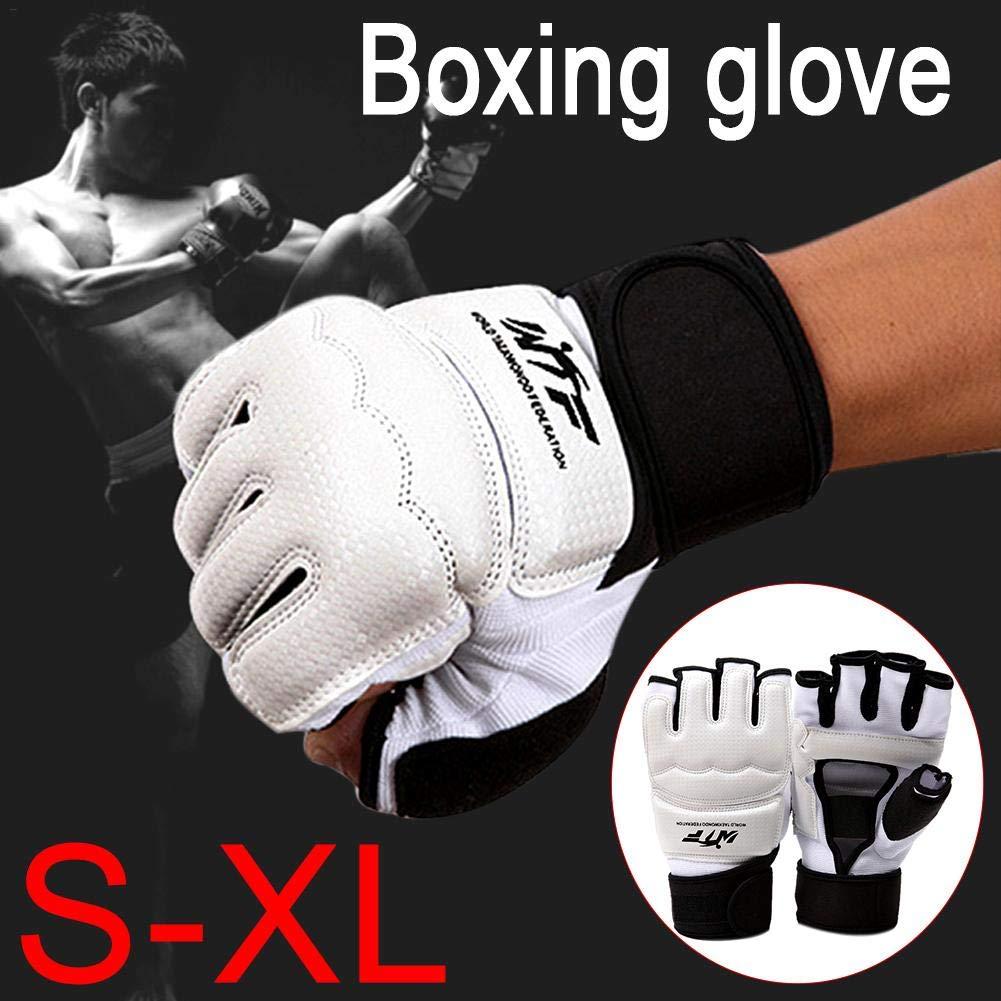 S//M//L//XL Like-Minded Sponsi Guantes de Boxeo Protector de Manos Guantes Deportivos de Artes Marciales aprobados por WTF para Hombre