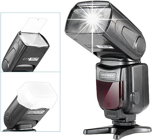 Neewer NW-562 E-TTL Flash Speedlite Kit para Canon DSLR con NW-562 ...