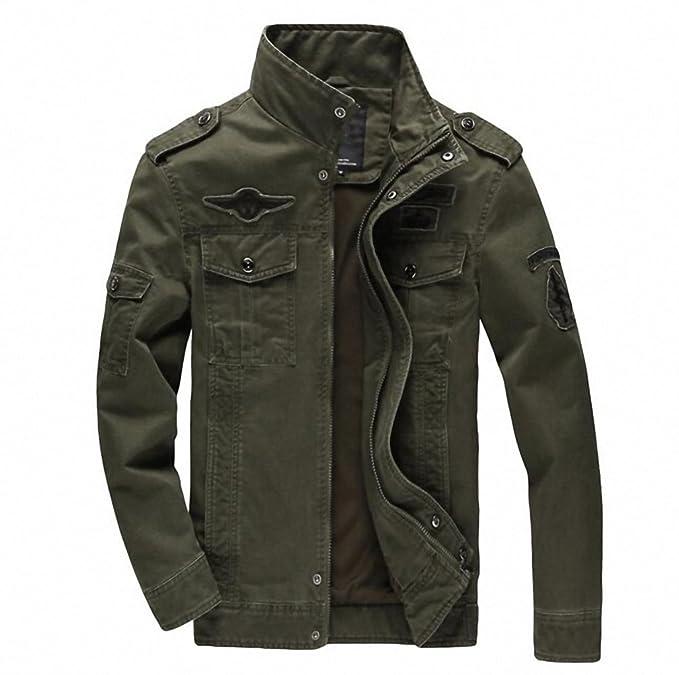 Amazon.com: chamarra para hombre Jean Militar Plus 6 x l ...