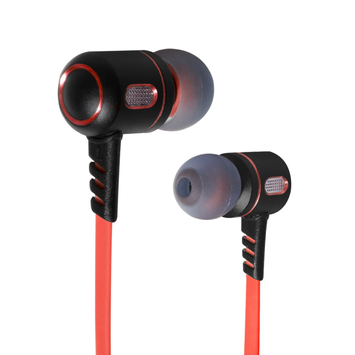 SPIRIT OF GAMER Ecouteurs intra auriculaires Gaming LEGION Rouge - Multiplateforme PC / PS3 / PS4 / XBOX 360 / XBOX ONE / SWITCH