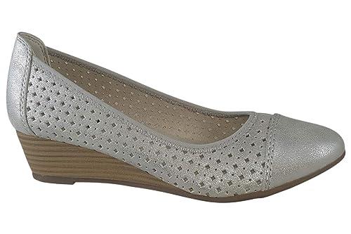 newest 2f09c 25743 Softline - Jana Beryl 2 22 White/Silver 41: Amazon.co.uk ...