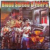BLOOD SWEAT & TEARS nuclear blues LP Mint- MCA-3227 Record 1980 w/Insert