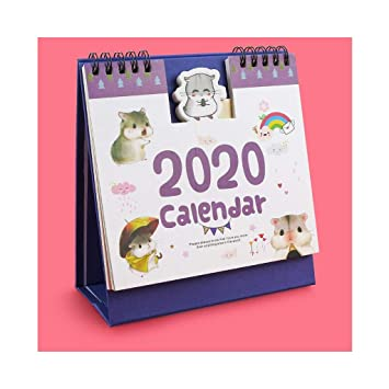 Desktop Calendar Calendario de Escritorio 2020 Calendario ...