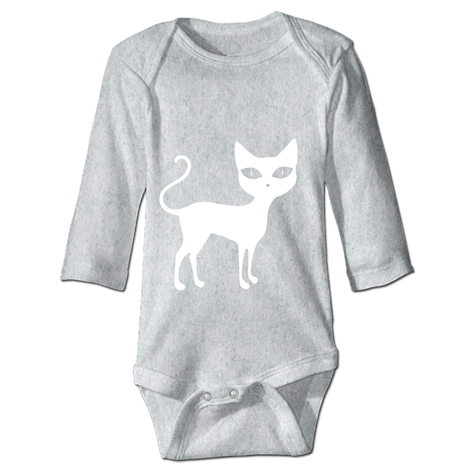 SFHU Baby Cotton Bodysuits Cute Baphomet Long-Sleeve One-Piece Suit