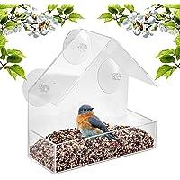 WINBST Dispensador de alimento para pájaros de Ventana