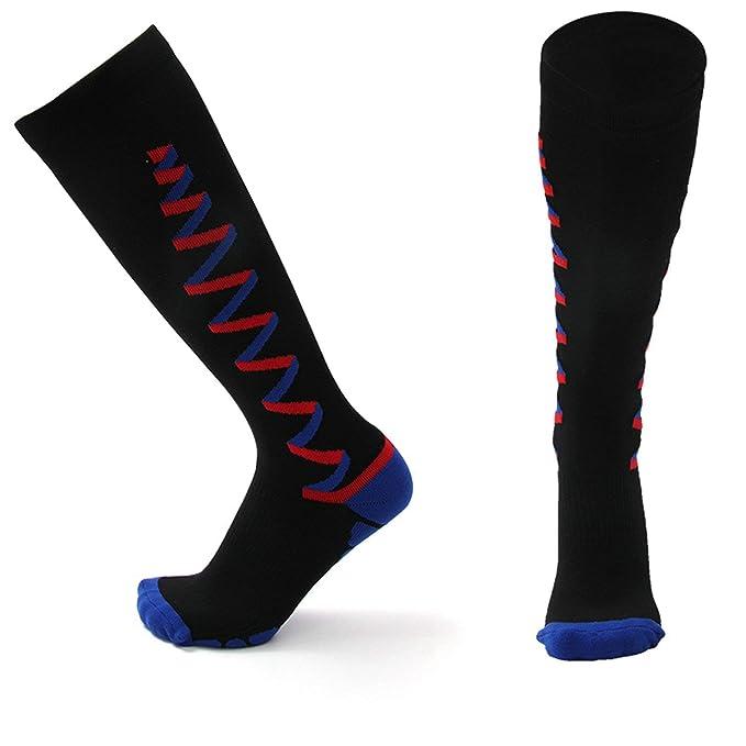Beydodo Calcetines Deportivos Hombre Calcetines Hombre GYM 5 Par de Calcetines Calcetines Futbol Hombre Calcetines Running Calcetines 2Par Negro 3Par Rojo: ...