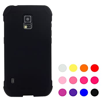2a3a78c8bc Amazon | SC-02G GALAXY S5 Active 黒シリコン ケース カバー sc-02g ...