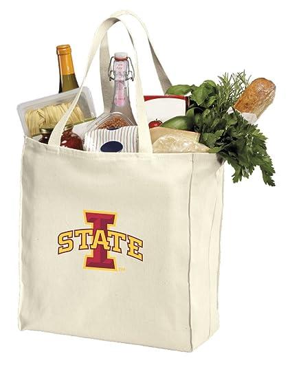 Amazon.com: Reutilizable Iowa Estado bolsas de comestibles o ...