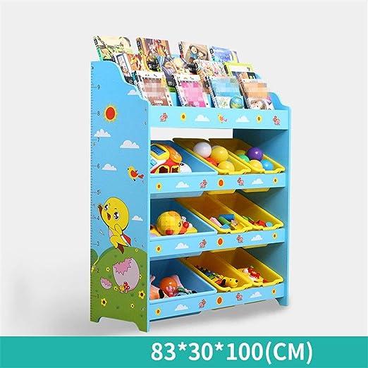 Caja de juguetes para niños Niños de juguete organizador del ...