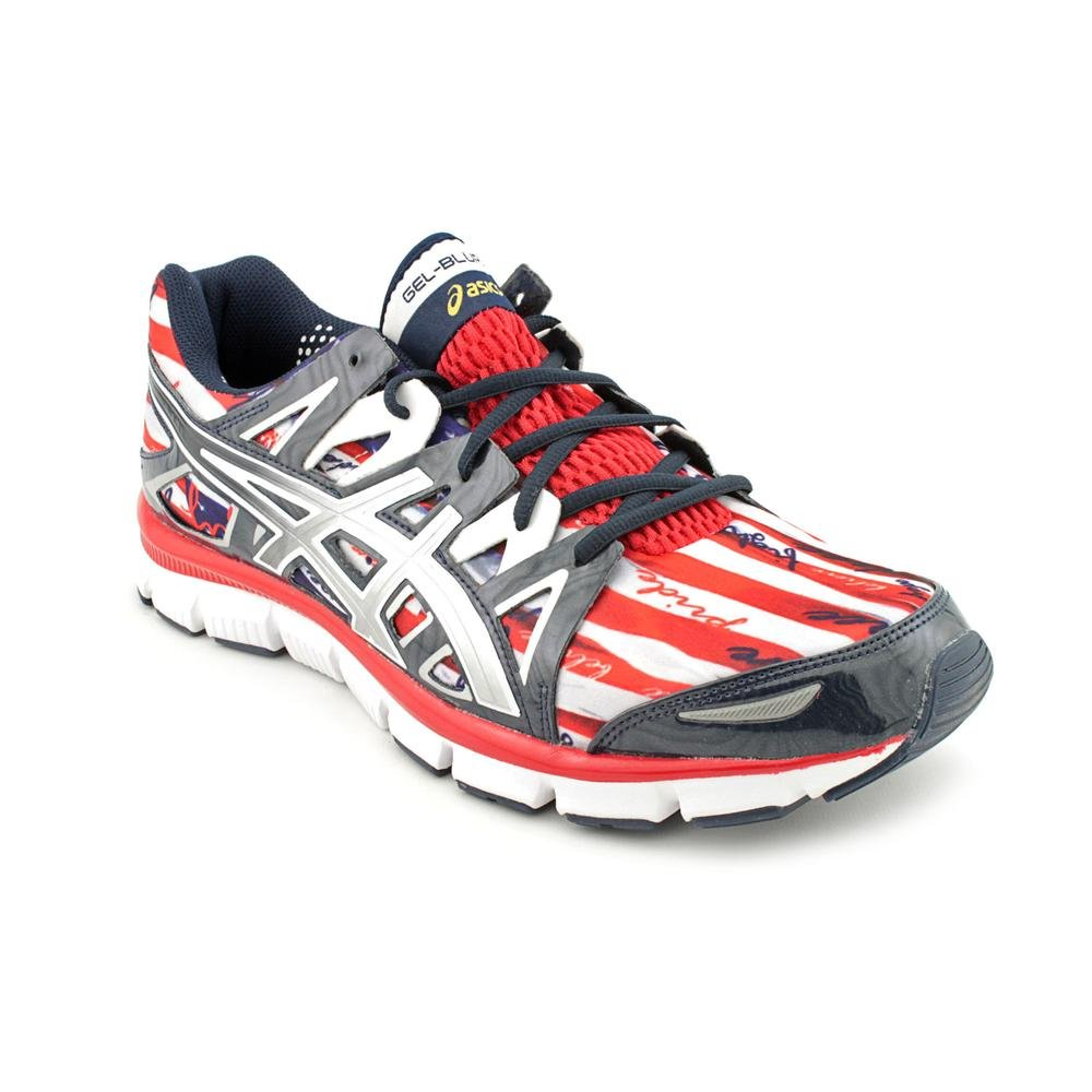 b1c423f9105d ASICS Gel Blur33 2.0 Mens Red Mesh Running Shoes Size UK 11  Amazon.co.uk   Shoes   Bags