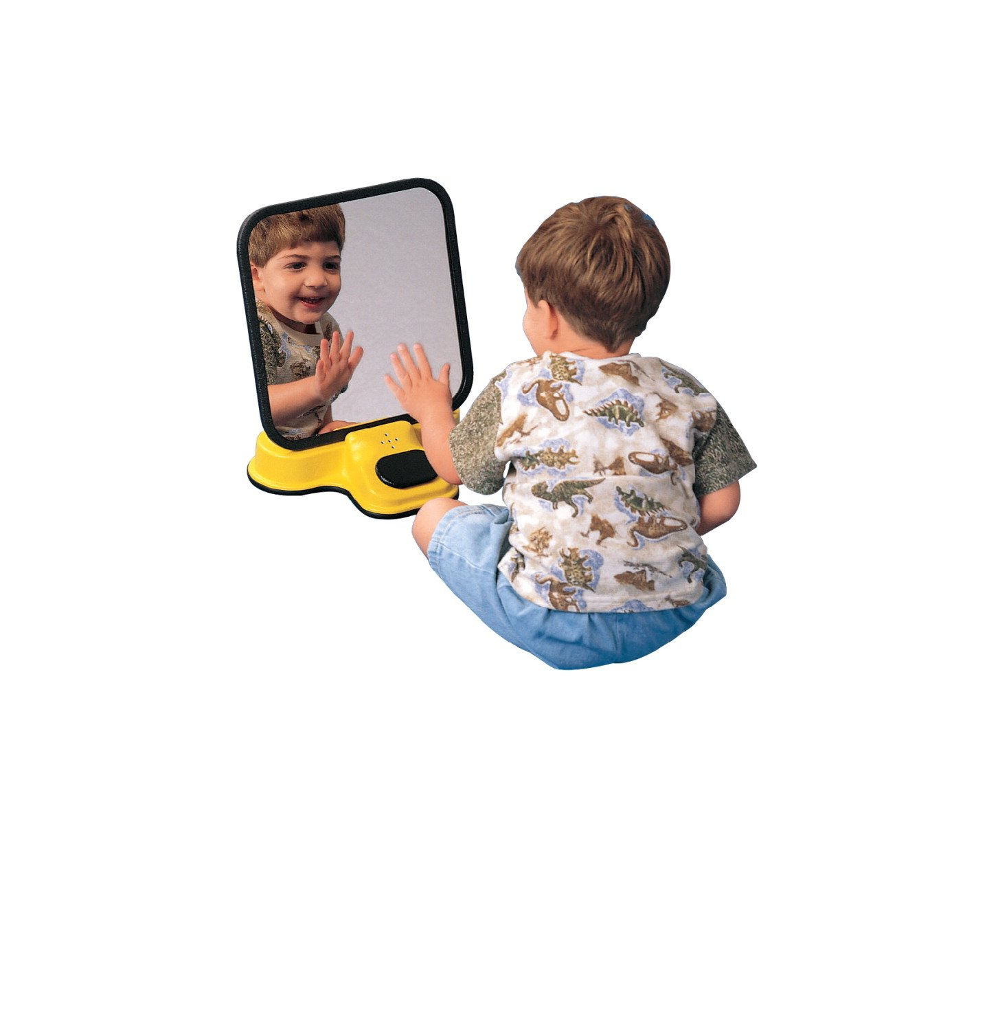 Sensation Products 100810 Talking Speech Therapy Unbreakable Mirror, Plastic, 8'' Length x 12'' Width x 14'' Height