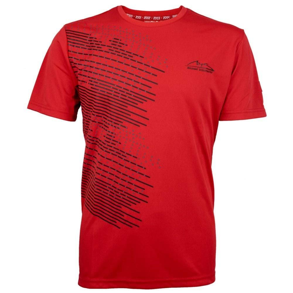 Michael Schumacher T-Shirt Speedline rot