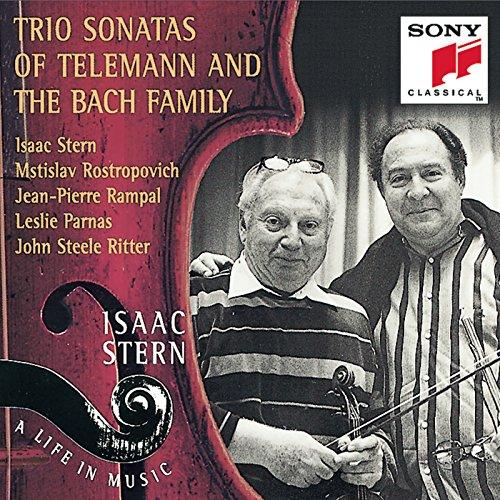Trio Sonatas of Telemann & The Bach Family