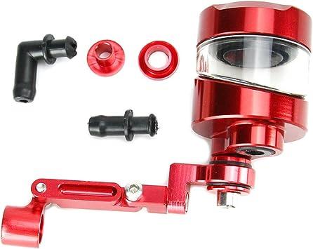 Brake Clutch Fluid Reservoir Universal CNC For Yamaha R1 R6 FZ1 FZ6 R6S US Stock