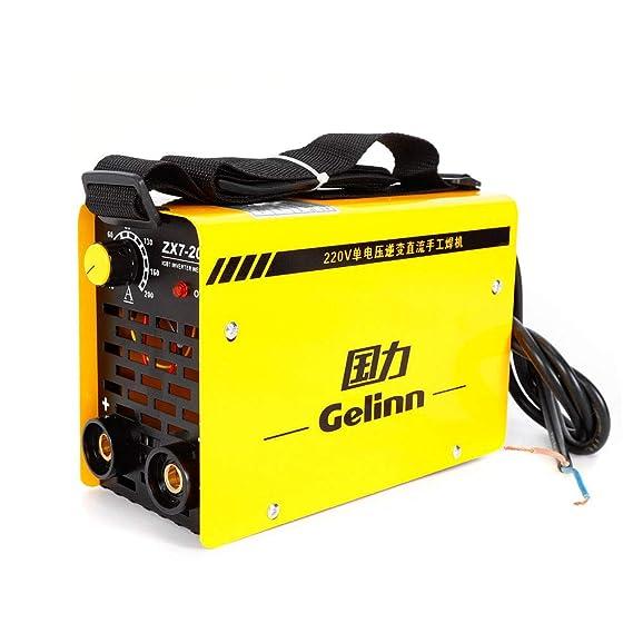 Máquina de soldar portátil estación de soldadura con inversor IGBT ZX7 - 200 200 V: Amazon.es: Bricolaje y herramientas