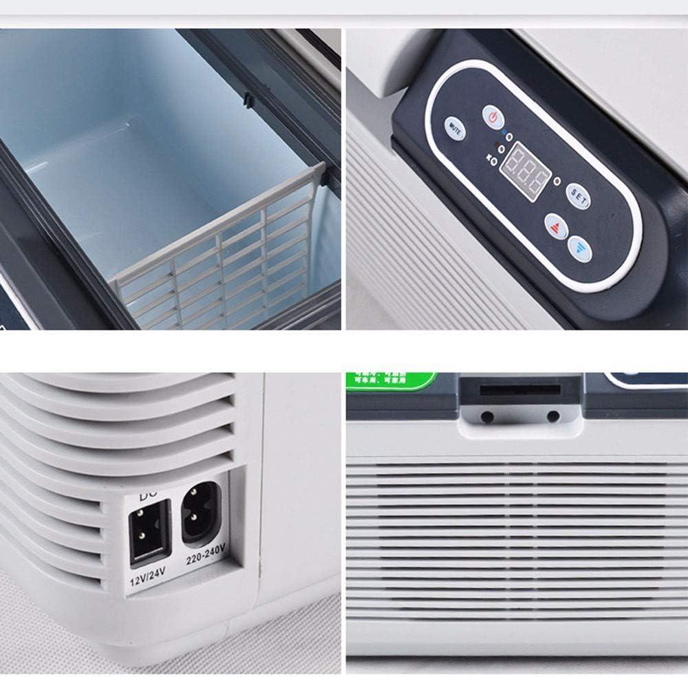 Congelatori pozzettoFrigorifero Auto 12 V Car Cooler Warmer 11-15 L Frigorifero Elettrico Frigorifero Portatile da Viaggio Scatola Fredda e Calda