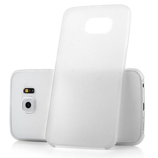 72 opinioni per Ultra Thin Case MC24® per Samsung Galaxy S6 in bianco- sottile custodia