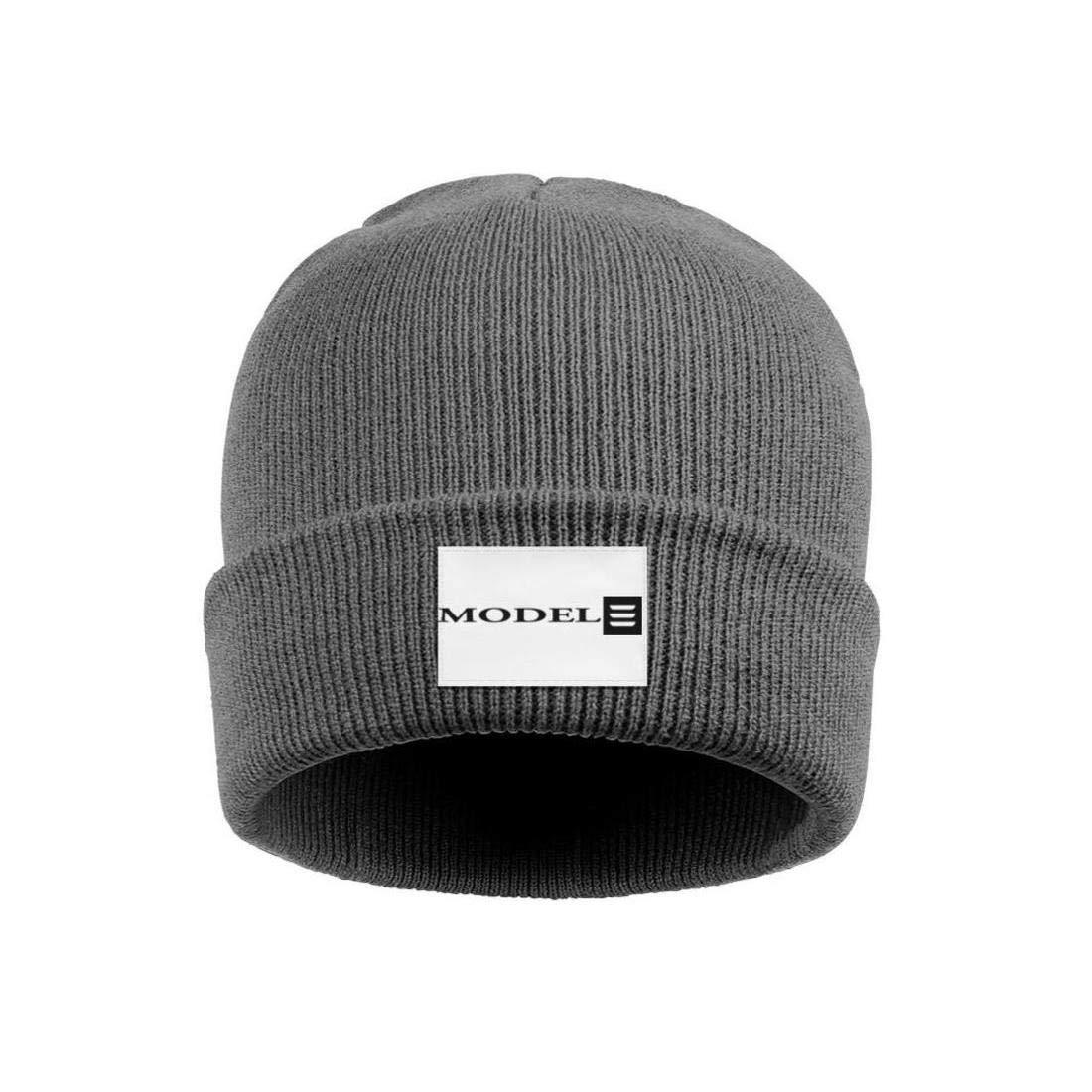 Multifunction Woolen Cap Mens Womens Beanie Hat Tesla-Logo