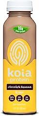 Koia Protein, Ready To Drink Plant Protein Shake, Dairy Free, Gluten Free, Soy Free, Non GMO, Kosher, Vegan, Chocolate Banana