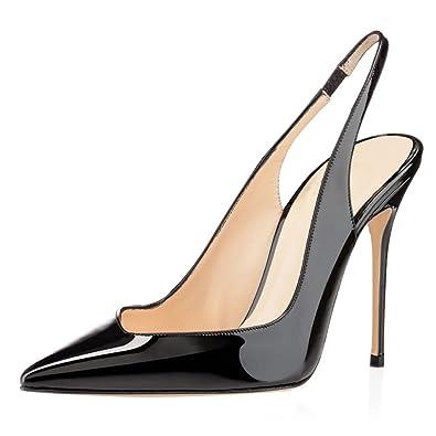 Slingback Hochzeit Schuhe Schwarz EU39 elashe Abschlagen Real Für Verkauf Freies Verschiffen Browse Ausgezeichnete Online Y5jnfQ