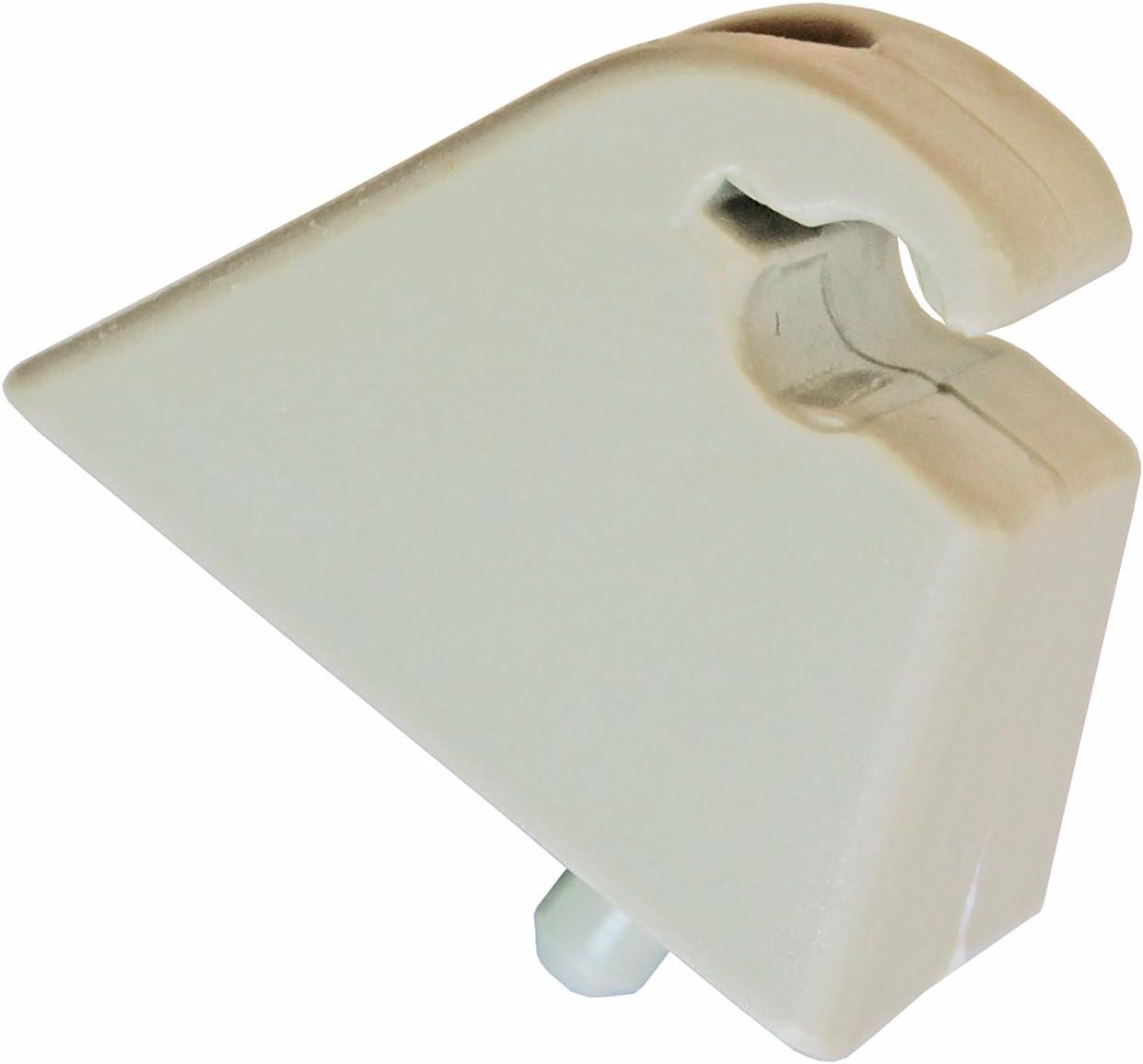 Autocommerse 2 Stück Sonnenblende Halterung Haken Clip Sonnenschutz Aufhänger Für Astra Vectra Corsa Tigra Vivaro Autozubehör Auto