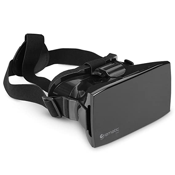 3aa7c4fb7681 Amazon.com  Ematic EVR410 Universal VR Mobile Headset for Smartphones  Cell  Phones   Accessories