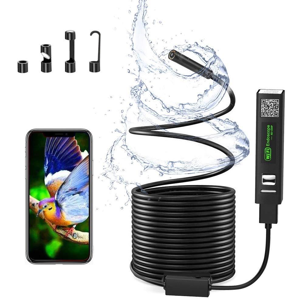 Wireless Inspection Camera, USB Port WiFi Endoscope