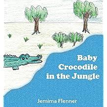 Baby Crocodile in the Jungle