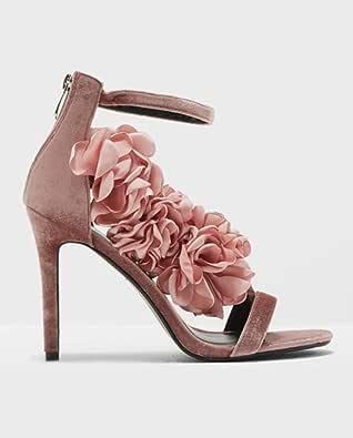 Pink Heel Sandal For Women