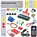 Tolako Starter Kit for Raspberry Pi 3, 2 & Model B+ T GPIO Extension Board, PL2303, Step Motor, Breadboard, Dot Matrix Display, Remote Control by Tolako