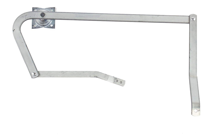 Louisville Ladder Attic Ladder Kit Power Arm Assy Left Hand, PR315500-LH, Silver