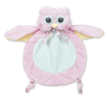 Amazon Com Bearington Baby Wee Lil Hoots Small Pink Owl Stuffed
